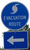 Sanibel hurricane evacuation route