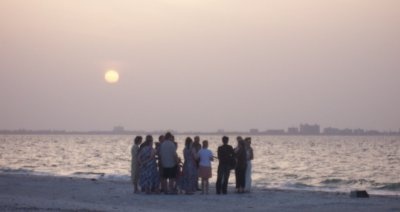 Sunrise Wedding on Sanibel Lighthouse Beach
