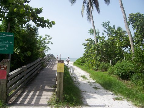 Sanibel Tarpon Bay Road beach access